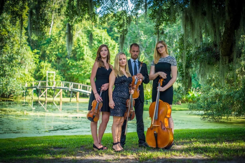 string quartet Middleton plantation