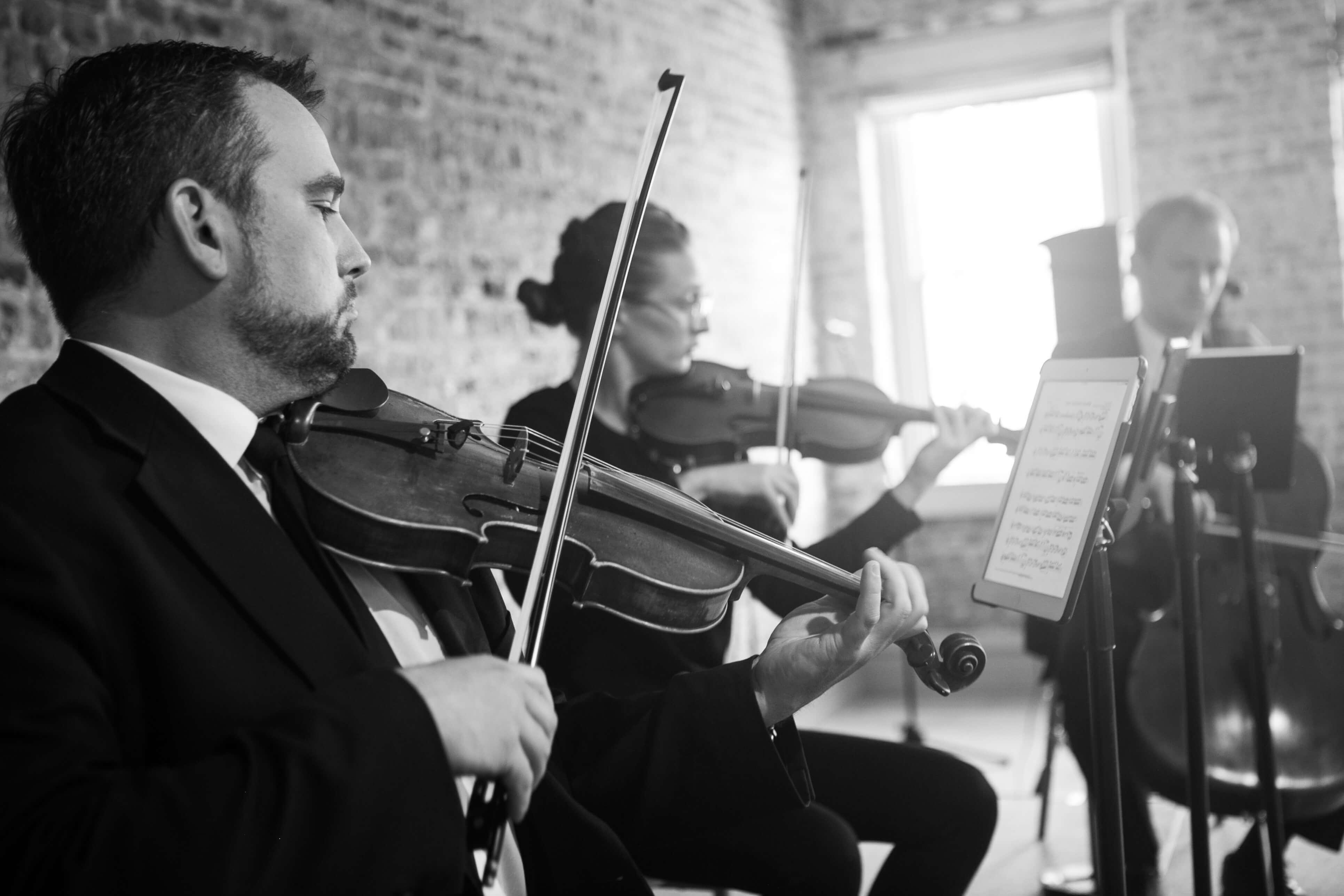 Wedding String Trio Merchants Hall