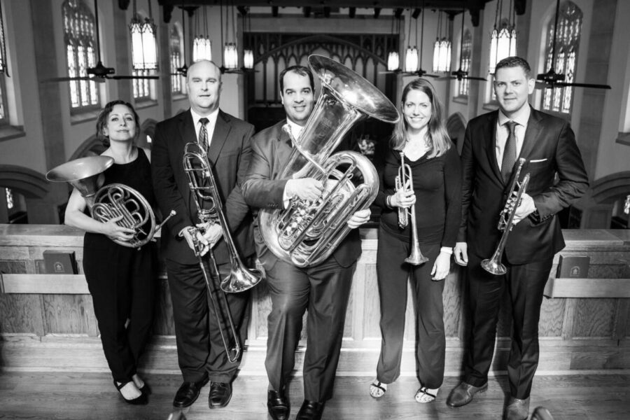 charleston brass quintet