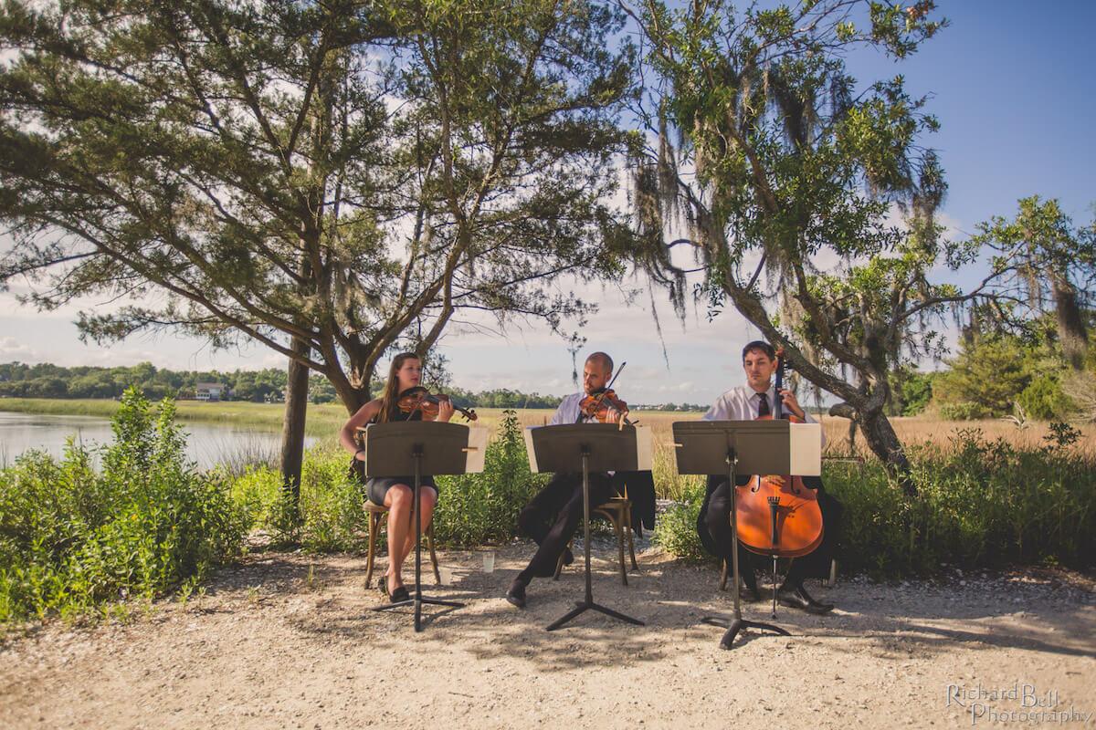 Charleston Wedding String Trio at Boone Hall Plantation